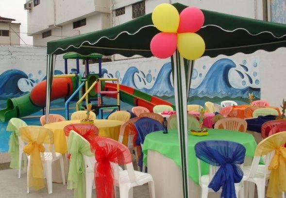 Realizar fiestas infantiles para tus hijos for Piscinas infantiles