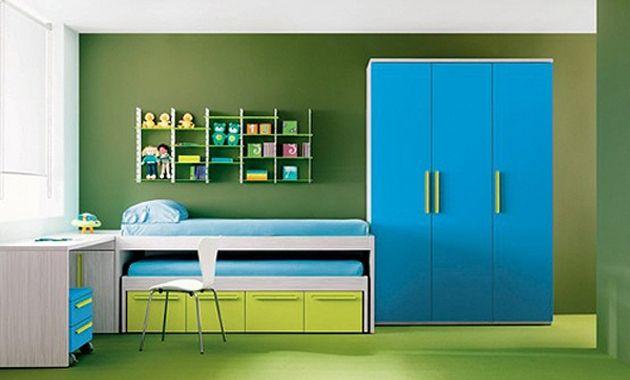 El color de la habitaci n de tu hijo le puede ayudar a - Pared naranja combina con ...